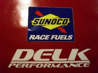 Mustang Camaro Honda Racing Sunoco Race Fuel Decal