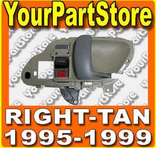 98 CHEVY GMC TRUCK 95 99 Suburban TAHOE INSIDE DOOR HANDLE Right TAN