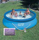 12 x 30 Intex Easy Set Above Ground Swimming Pool +Pump
