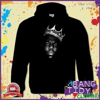 Smalls The King Notorious B.I.G. Hip Hop Music Mens Hoodie Gift Idea