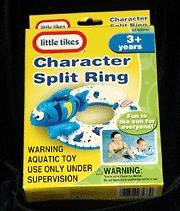 Little Tikes Blue Fish Swimming Ring / Pool Ring Toy