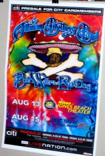The ALLMAN BROTHERS Band BOB WEIR RAT DOG Show Poster