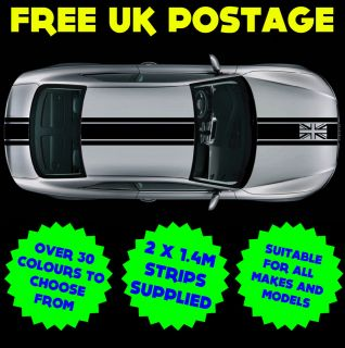 4m UNION JACK Car Decal Graphic Strip Racing Stripes Sticker JAGUAR