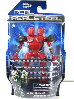 New Real Steel figures ( Twin Cities ) Midas Zeus Noisy Boy Atom Free