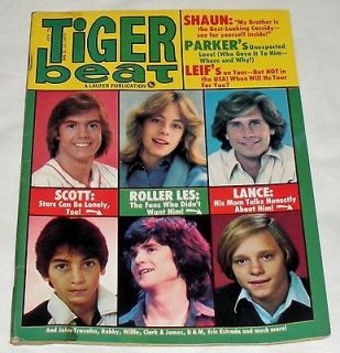 VINTAGE TIGER BEAT TEEN MAGAZINE APRIL 1978 BAY CITY ROLLERS HARDY
