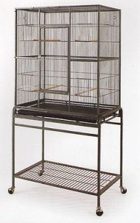 Bird Cage Parrot Cages Cockatiel 32x20x53 Wrought Iron Flight Cage