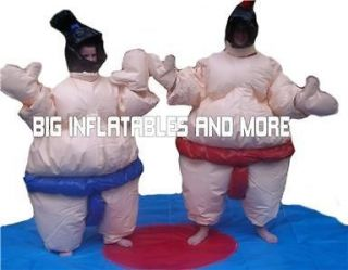YOUTH SIZE FOAM FILLED SUMO WRESTLING SUITS COMMERCIAL