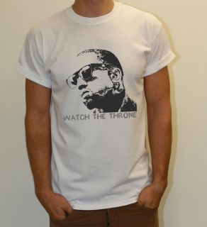 KANYE WEST JAY Z WATCH THE THRONE THAT SH*T CRAY BALL SO HARD TSHIRT
