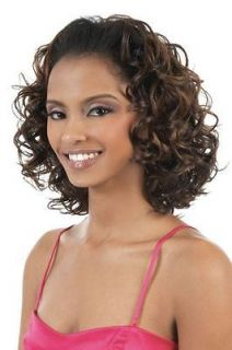 TIO 16 BY MOTOWN TRESS 2 IN 1 HALF WIG & PONYTAIL SYNTHETIC CURLY HAIR