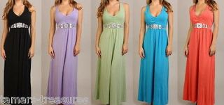MAXI DRESS Beach Wedding Party BOHO Bridesmaid Gown PLUS 1X 2X 3X