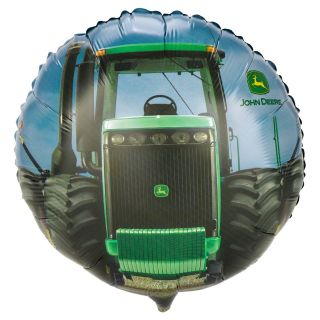 BALLOONS new JOHN DEERE rd PARTY farm FAVORS barn 4 H club TRACTOR
