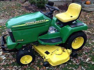 john deere lawn tractor in Lawnmowers