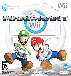 Mario Kart Nintendo Wii & U COMPLETE Game+Case+Manual
