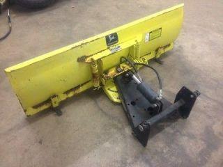 54 John Deere Hydraulic Snow Blade Plow Garden Tractor Mower