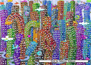 NEW Heye jigsaw puzzle 2000 pcs Mordillo   City 29495