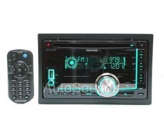 NEW KENWOOD DOUBLE 2 DIN DPX308U CD//WMA PLAYER FRONT USB/AUX INPUT