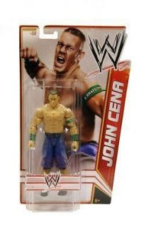 JOHN CENA WWE MATTEL BASIC SERIES 22 ACTION FIGURE TOY #59