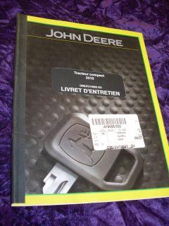 John Deere Starter Gator XUV 620i 4x4 228000 2210 12V