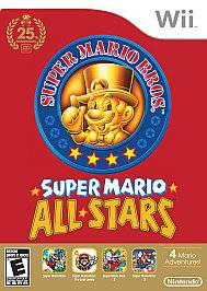 SUPER MARIO BROS BROTHERS ALL STARS NINTENDO WII GAME DISC ONLY