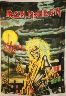 IRON MAIDEN Killers Eddie Cloth Poster Flag Tapestry