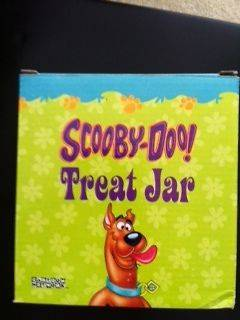 Scooby Doo! Cookie Jar/Treat Jar (Small)   MINT IN BOX