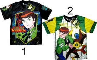 BEN 10 Kids Boys BEN TEN Toys T Shirts Shirt ALL SIZES Age 4 5 6 7 8 9