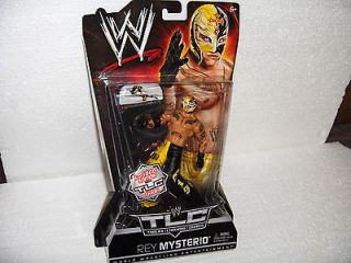 WWE WRESTLING CHASE DOLL FIGURE TLC CHAIR ACTION REY MYSTERIO 619