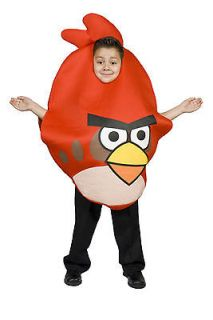 Kids Child Unisex Boys & Girls Red Angry Bird Halloween Costume SIze 5