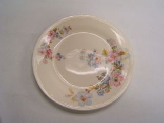 Edwin Knowles Semi Vitreous China floral plate Vintage