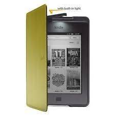 Genuine  Kindle Lighted Leather Case / Cover   Olive Green