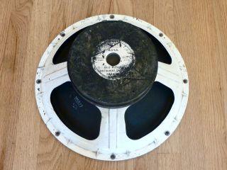 Altec Lansing 421 A Dia Cone 15 8 ohm Vintage Bass Guitar Speaker JBL