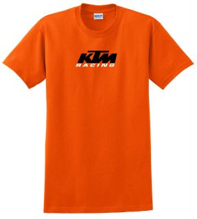 KTM RACING YOUTH CHILD T SHIRT ORANGE MX MOTOCROSS DIRT BIKE ATV QUAD