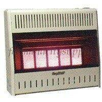NIB KOZY WORLD KWN323 5 PLAQUE NAT GAS VENT FREE INFRARED WALL HEATER