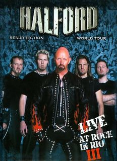 Halford   Resurrection World Tour Live At Rock In Rio III DVD, 2008, 2