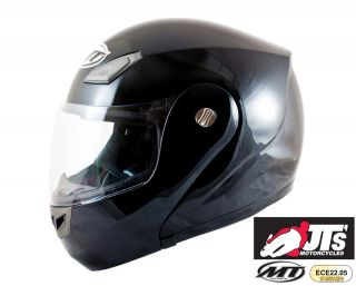 COYOTE SHINY GLOSS BLACK CHEAP MOTORCYCLE FULL FACE FLIP UP HELMET NEW