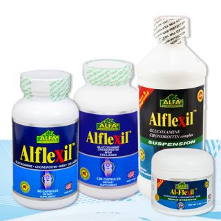 Alflexil   Bone and Joint   Glucosamine   Chondroitin   MSM