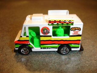 RARE Nr MINT 1983 Collectible Diecast Hot Wheels Toy Food Truck Rasta