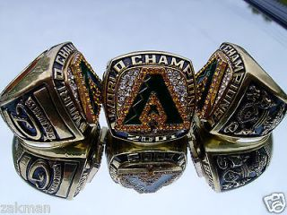 2001 Arizona Diamondbacks World Series Championship Ring 18k Gold