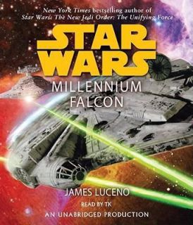Millennium Falcon NW CD audio book Star Wars James Lucerno Han Solo