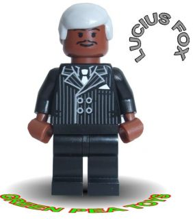 Lego BATMAN DARK KNIGHT RISES Minifigure   LUCIUS FOX