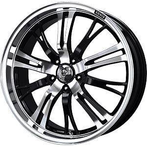 New 17X7 4x108/4x100 KONIG Unknown Black Wheels/Rims