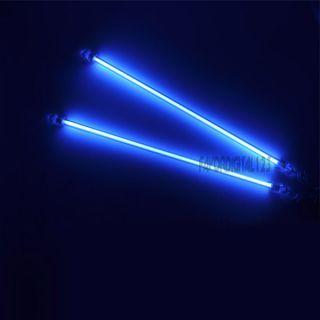 2x Blue 6 Cold Cathode CCFL Light MOD Kiy PC Computer Very Bright New
