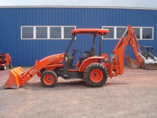 2011 Kubota L45 Tractor Loader Backhoe ONLY 185 Hours!!