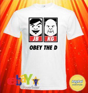 Tenacious D Jack Black Kyle Gass Obey The D T Shirt