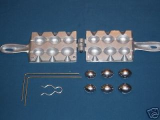 Egg Sinker Mold   3,4&5 oz weights.Weight mold.