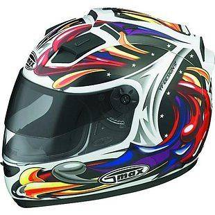 GMAX GM68S MOTORCYCLE FULL FACE STREET HELMET WIZARD GM68 LED LIGHTS