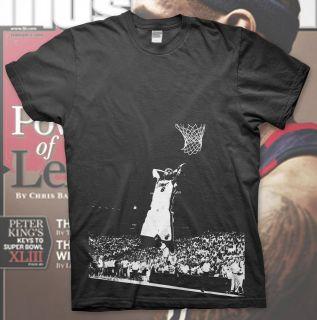 LEBRON JAMES   High Quality Cotton T Shirt NBA MIAMI HEAT Slam Dunk 06