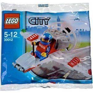 City   LEGO Exclusive Mini Figure Set # 30012 Mini Airplane Bagged by