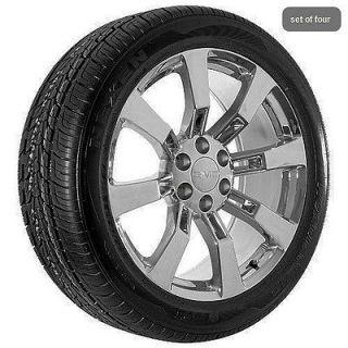 22 inch GMC yukon denali sierra chrome truck wheels rims