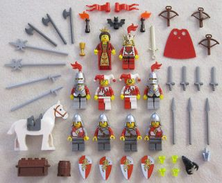 10 NEW LEGO CASTLE KNIGHT MINIFIG LOT Kingdoms Lion figures